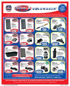 Goldwagen Specials
